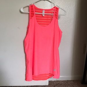 Coral Workout Top